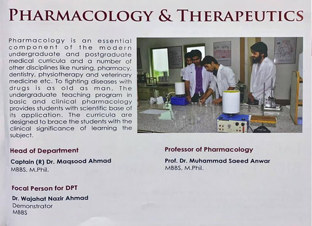pharmacology dpt