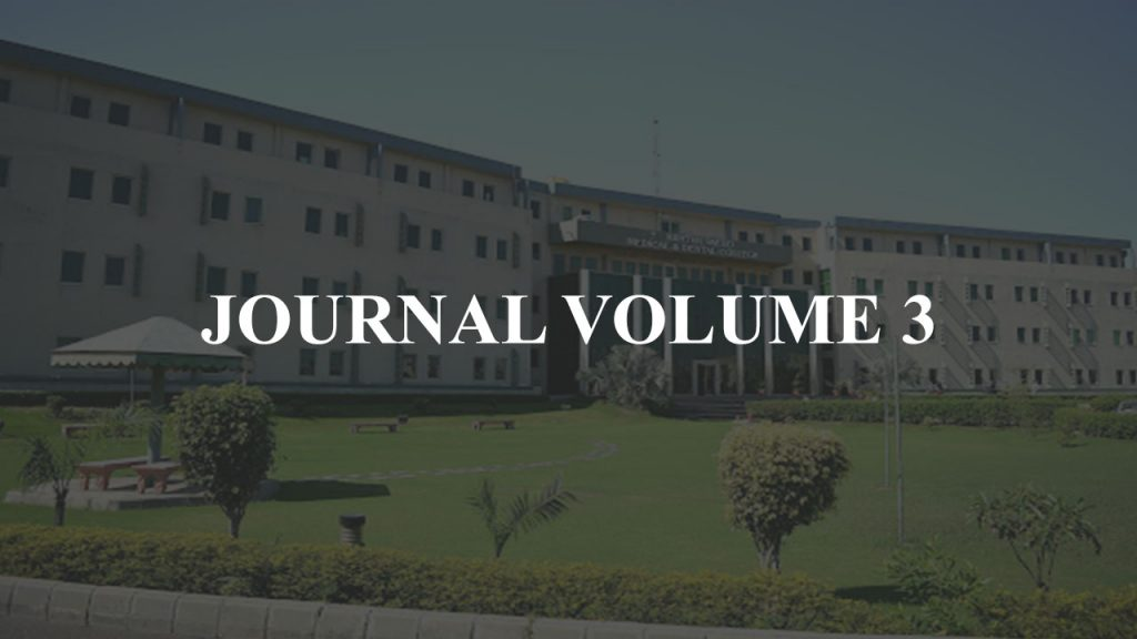 Journal Volume 3 AMDC